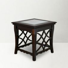 Flat 58% off on Nina Side Table Brown