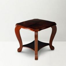 Flat 47% off on Liana Side Table Brown