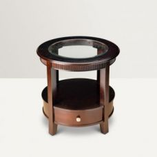 Buy Zina Solid Wood Side Table Brown for Rs. 13,900