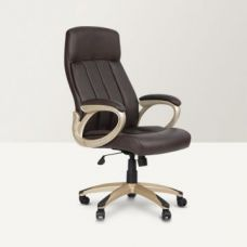 Hugo Leatherite High Back Office Chair Brown for Rs. 10,900