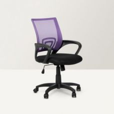 Buy Regus Low Back Mesh Office Chair Purple and Black for Rs. 4,500