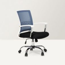Buy Titus Medium Back Mesh Office Chair Black and Blue for Rs. 5,900