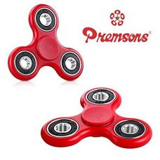 Buy Premsons 608 Four Bearing Fidget Spinner (Red and Black) from Amazon