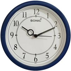 SD Enterprises Designer Blue & White Wall Clock / Watch Gifts,Descent for Home and Office for Rs. 250