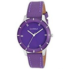 Buy Laurels Colors Purple Dial Analog Wrist Watch - For Women from Amazon