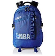 Buy American Tourister Polyester 32 Ltrs Blue Laptop Backpack (AMT NBA ALLSTAR BCKP03-BLU) from Amazon