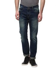 Buy American Crew Men's Straight Fit Jeans (Dark Blue) from Amazon