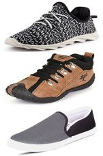 Buy Scatchite Pack of 3 Trendy Casual Shoes from Amazon