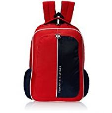 Buy Tommy Hilfiger Marble Hill Polyester Red Children's Backpack (TH/BTS04MRH) from Amazon