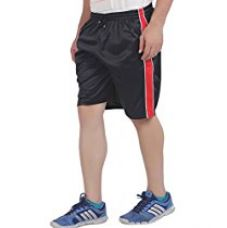 Buy American Crew Men's Polyester Black Shorts - L (AS008-L) from Amazon
