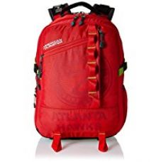 Buy American Tourister 32 Ltrs Red Laptop Bag (AMT NBA ALLSTAR BCKP03-RED) from Amazon