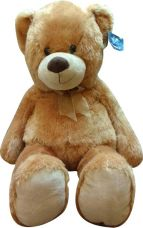 Buy Starwalk Teddy Bear Plush Brown Color with Bow  - 26 inch  (Brown) from Flipkart