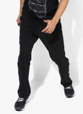 Adidas Black Training Track Pants for Rs. 1299