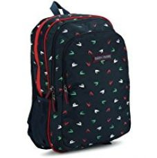 Buy Tommy Hilfiger Queens Polyester 21.6 Ltrs Black School Backpack (TH/BTS01QNS) from Amazon
