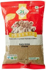 Buy 24 Mantra Organic Black Pepper Powder, 100g from Amazon