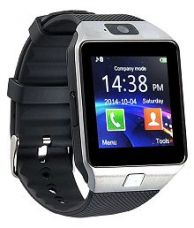 Bingo T30 Silver Fitness Sim and Memory Card Support Smart Watches Black for Rs. 899