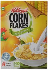 Buy Kellogg's Corn Flakes with Real Mango Puree, 300g from Amazon