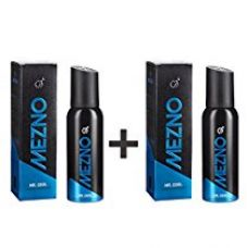 Buy Mezno Mr. Naughty - Fresh Active Fragrance Deodorant Body Spray For Men - 24 Hrs Fresh Power - No Gas Deo - 120ml (Pack of 2 ) from Amazon