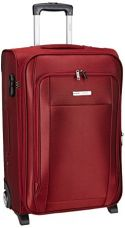Buy Safari Polyester Maroon Softsided Suitcase (Voyager) from Amazon