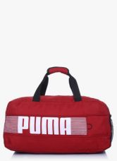 Buy Puma Pioneer Sports Red Duffel Bag from Jabong