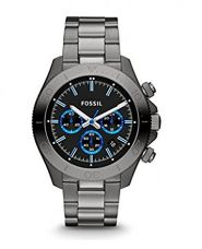 Buy Fossil Retro Traveler Chronograph Black Dial Men's Watch - CH2869 from Amazon