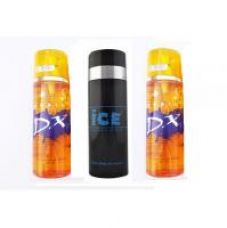 Flat 75% off on Deo Tripple Dhamaka - Two DX Deo + One Ice Deo