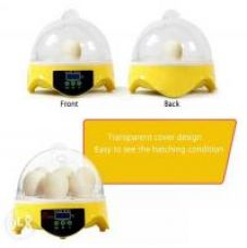 Buy High Quality HHD Mini Egg Incubator 7PCS Eggs Automatic Poultry Chicken Hatcher Machine from ShopClues
