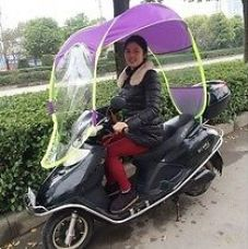 Universal Scooter / Bike Umbrella all seasons polyester for all 2 Wheeler for Rs. 800