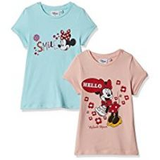 Buy Disney's Minnie Mouse Girls' T-Shirt from Amazon