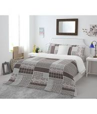 Get 50% off on Welhome Double Cotton Multi Checks Bed Sheet