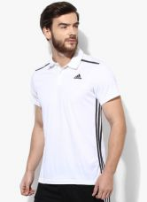 Adidas Cool365  White Polo T-Shirt for Rs. 1000