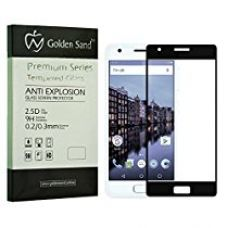 Buy Golden Sand Tempered Screen Protector For Lenovo Zuk Z2 - Black With Notification Led Hole,2.5D Glass,Case Friendly Design, 0.3Mm, 9H Hardness, from Amazon