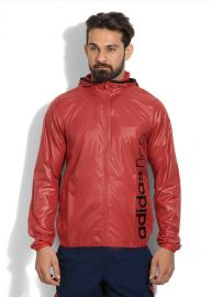 Buy Adidas Full Sleeve Solid Men's Sports Jacket Jacket from flipkart