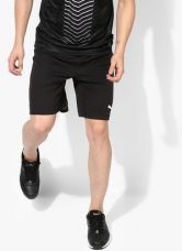 Get 45% off on Puma Pitch With Inner Brief Black Running Shorts