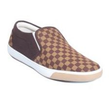 Buy Blue-Tuff Mens Casual Shoes - BT-Checker-Brown for Rs. 499