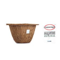 Flat 15% off on COCONUT FIBRE SMALL SQUARE POT  PLANTER FLOWER INDOOR PLANTS GARDENING 5qty