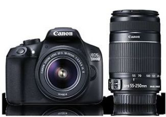 Buy Canon EOS 1300D with 18-55 IS II & 55-250 Lens from Ebay