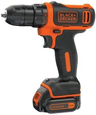 Black + Decker BDCD12 10.8V Li-Ion Cordless Drill (Orange, 3-Pieces) for Rs. 3,099