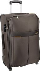 Flat 57% off on Pronto Oxford Expandable  Check-in Luggage - 24 inch  (Black)