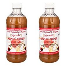 Buy Organic Apple Cider Vinegar-With Mother Vinegar ,Raw, Unfiltered & Undiluted- 473Ml (Pack Of 2) from Amazon