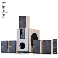 Buy Truvison SE-5055 5.1 Multimedia Speaker System USB FM AUX MMC Playback Support Feature Superior Sound Clarity from Amazon