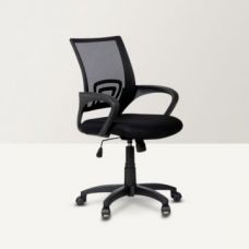 Buy Regus Low Back Mesh Office Chair Black from Fabfurnish