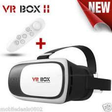 Buy COMBO OFFER 3D VR BOX 2.0 Virtual Reality Glasses Headset With VR Remote.HQ from Ebay