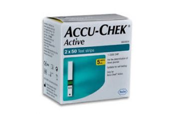 Buy Accu-Chek Active 100 Test Strips, 2*50 Strips - Exp MARCH/2018 from Ebay