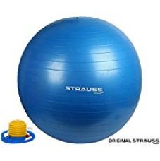 Buy Strauss Anti Burst Gym Ball with Foot Pump from Amazon