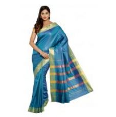 Buy ARYAHI Green Mysore cotton silk Solid Saree for Rs. 779