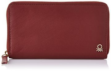 Buy United Colors of Benetton Women's Wallet (Brown) from Amazon