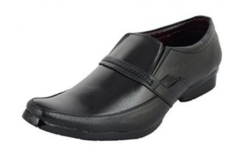 Buy Essence Men's Black Office Formal Shoes from Amazon