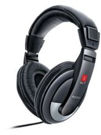 Buy iBall Rocky Headset Over-Ear Headphone With Mic for Rs. 430