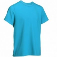 Buy Regular-Fit Gym & Pilates T-Shirt - Blue from Decathlon